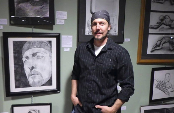 First Place Self-Portrait Drawing