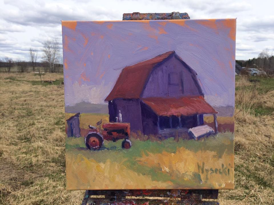 Plein Air Painting Workshop with Stephen Wysocki