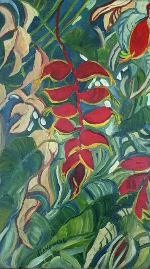 Jane Landwehr painting