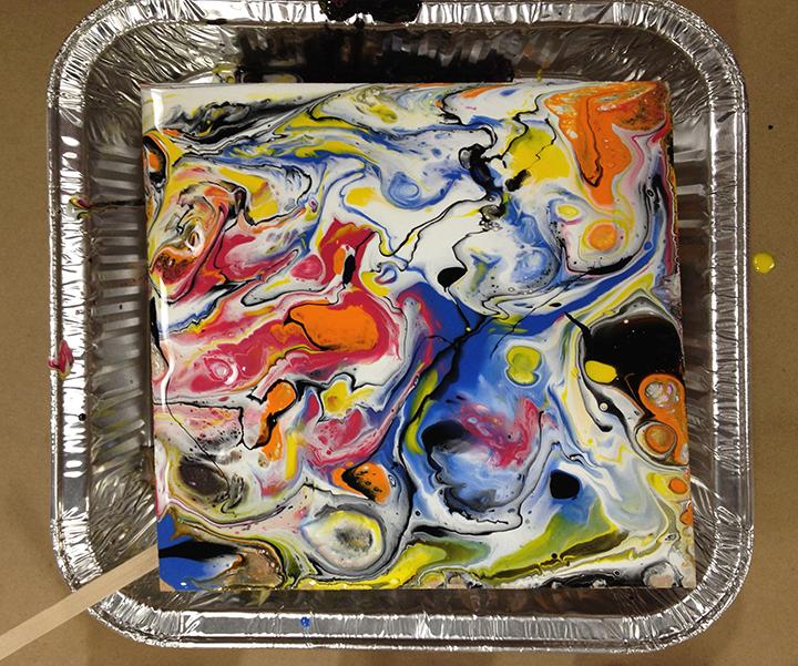 Acrylic Pour 1