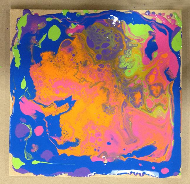 Acrylic Pour 11