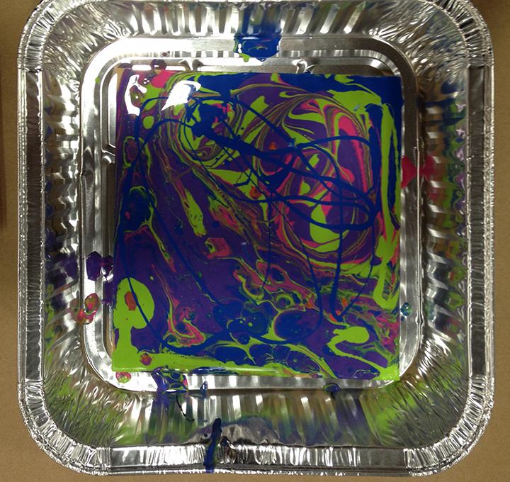 Acrylic Pour 12