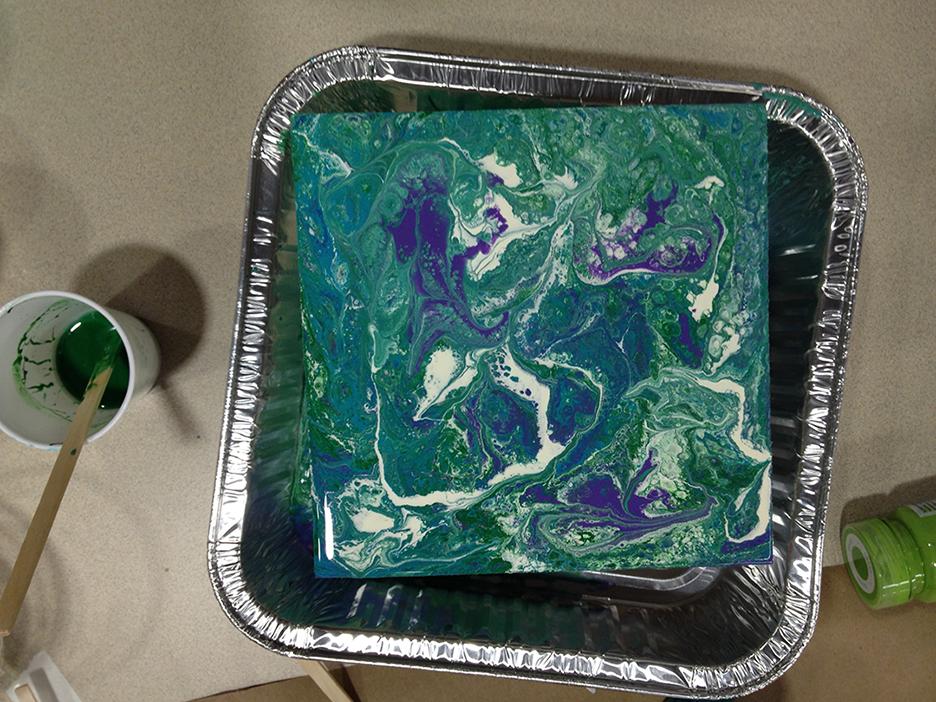 Acrylic Pour 16