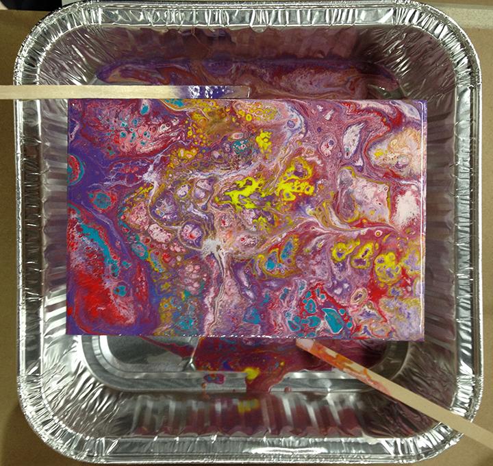 Acrylic Pour 19