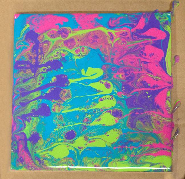 Acrylic Pour 4