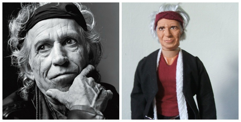 Keith Richards action figure