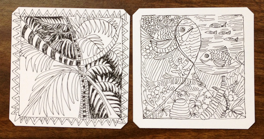 Zentangle or Doodling