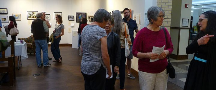 Marquette Poets and Borderland Arts Reception