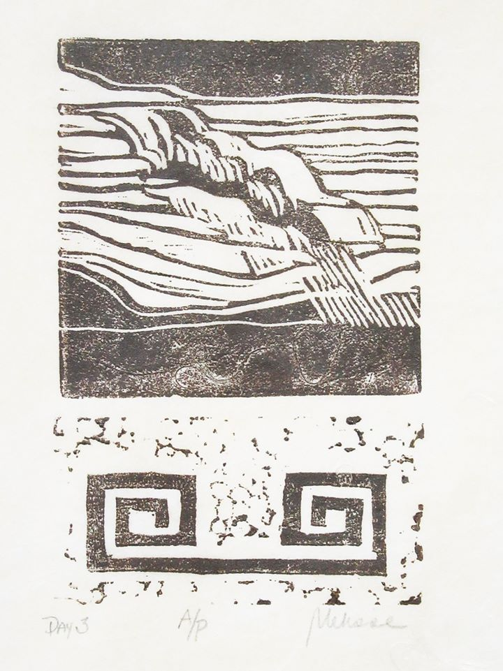 Melisse Carr linocut prints pic 2